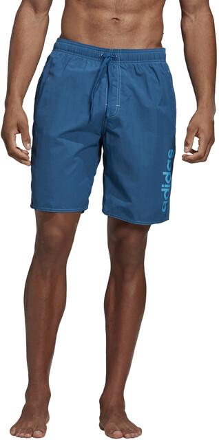 adidas Colourblock SL Short Homme, legend inkgrey twoshock cyan